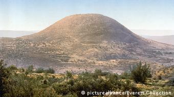 Το όρος Θαβώρ σε ιστορική φωτογραφία (τέλη 19ου αιώνα)