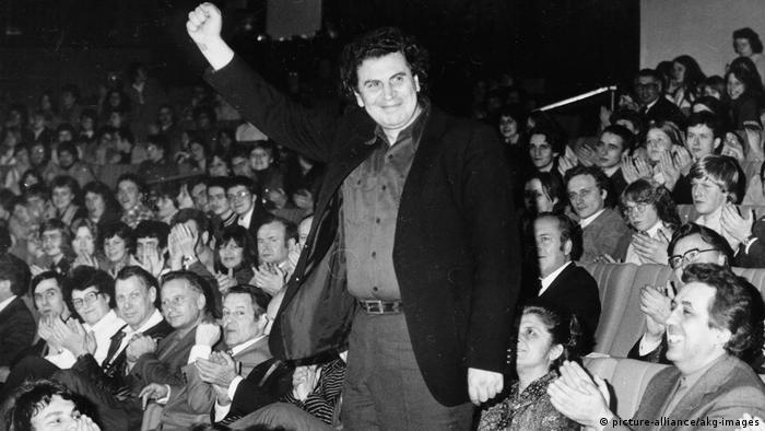 Berlin | Dirigent Mikis Theodorakis: Ehrengast beim Festivals des politischen Liedes