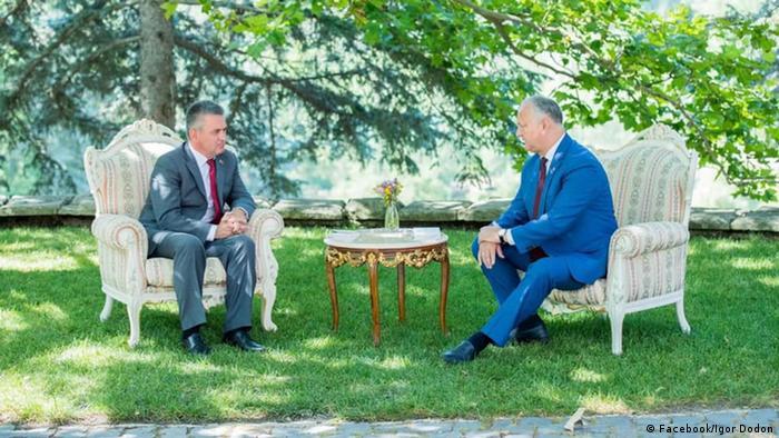 """Dacă Krasnoselski este """"președinte"""", cine este Igor Dodon ..."""