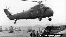 Vilseck/Grafenwöhr US-Militär Manöver Reforger I im Jahr 1969