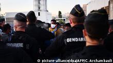 Paris Aubervilliers Polizei räumt Migranten-Zeltlager