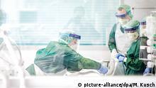 Deutschland Essen | Coronavirus | Intensivstation Uniklinikum