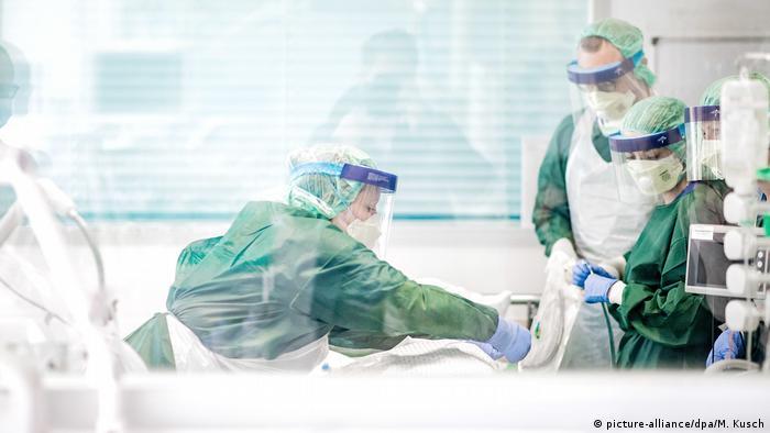 Відділення інтенсивної терапії у лікарні в німецькому Ессені