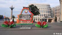 Weißrussland Präsidentschaftswahlen in Minsk