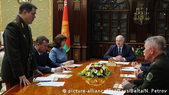 Председатель КГБ Беларуси докладывает Лукашенко о задержании 33 боевиков ЧВК Вагнера, 29 июля