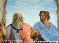Πλάτων και Αριστοτέλης, έργο του Ραφαήλ (1509-1511), Μουσείο του Βατικανού