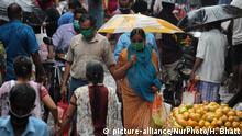 Coronavirus | Indien Mumbai starke Niederschläge