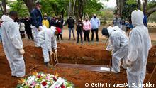 Coronavirus   Brasilien Trauer um Covid-19-Opfer