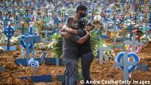 Coronavirus | Brasilien Trauer um Covid-19-Opfer
