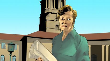 Helen Joseph a contesté le régime d'apartheid en Afrique du Sud.