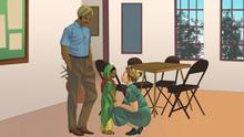African Roots | Helen Joseph +++ Nur zur Verwendung für das Projekt African Roots! +++ Das Copyright für alle Bilder sollte sein Comic Republic/DW. Entsprechend der Absprachen für das Projekt sollte dieses im Bild NICHT AUSGEPRÄGT werden. Wir garantieren die Nennung der Künstler im Kontext der Veröffentlichung.