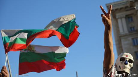 Bulgarien Proteste in Sofia (Reuters/S. Nenov)