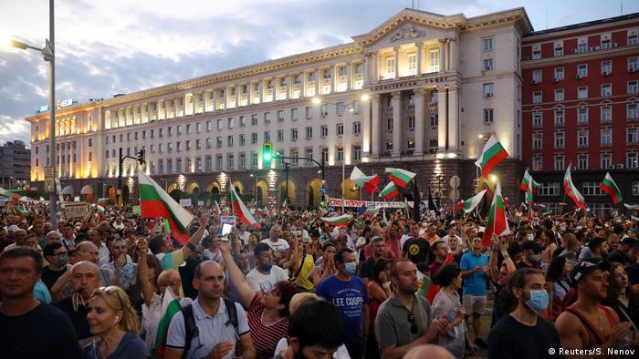 Антивладини протести во Софија на 29 јули 2020 година