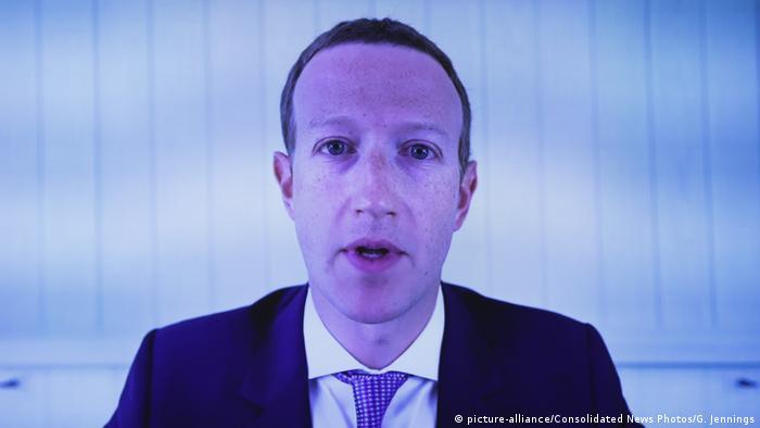 USA Washington | Chefs von Tech-Konzernen wehren sich gegen Wettbewerbsvorwürfe (picture-alliance/Consolidated News Photos/G. Jennings)
