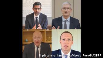 Sundar Pichai, Tim Cook, Jeff Bezos ve Mark Zuckerberg