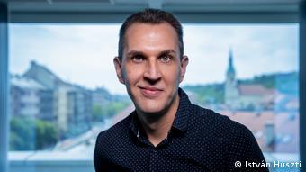 Szabolcs Dull - ehem. Chefredakteur des ungarischen Online-Portals Index