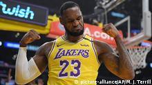 USA NBA vor dem Neustart