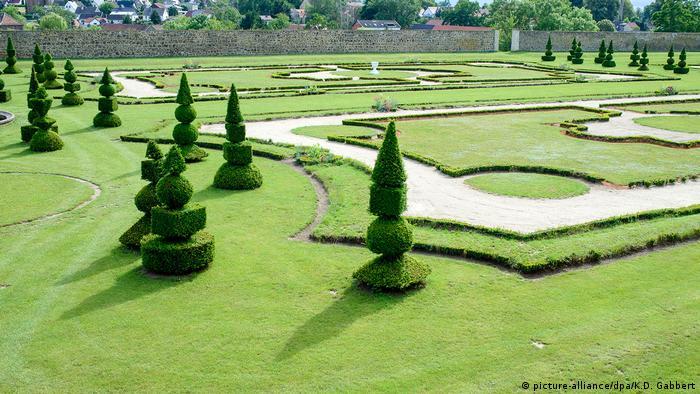 Барочный сад замка Хундисбург