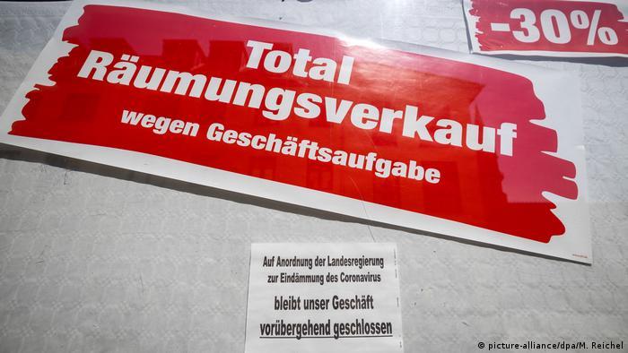 Skutki koronakryzysu w Niemczech (picture-alliance/dpa/M. Reichel)