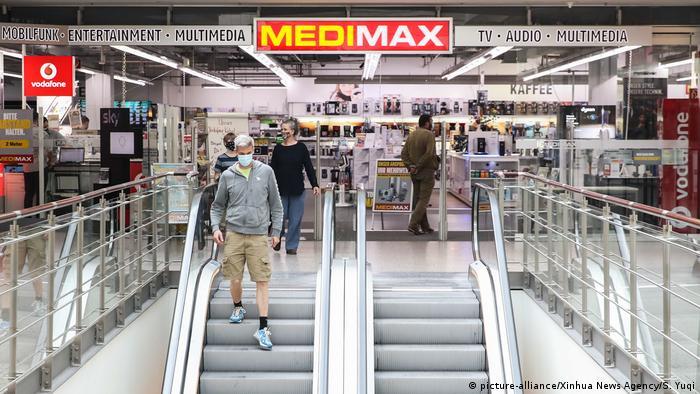 Deutschland Berlin | Coronavirus | Einkaufszentrum (picture-alliance/Xinhua News Agency/S. Yuqi)