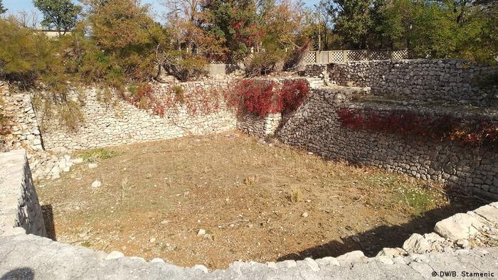 Ostaci logora Petrova rupa