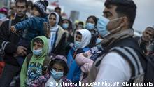 Griechenland Ausbruch des Covid-19 Virus bei Flüchtlingen in Griechenland