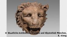 Deutschland, Ausstellungsexemplar der Ausstellung Hund, Katze, Maus. Tiere in Alltag und Mythos in München
