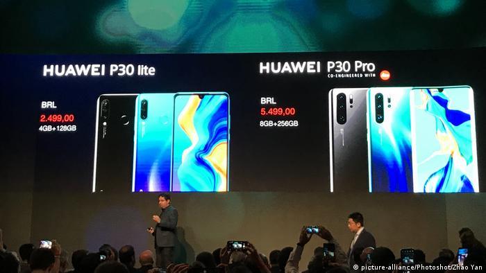 Huawei in Brasilien   Einführung neuer Produkte in Sao Paulo