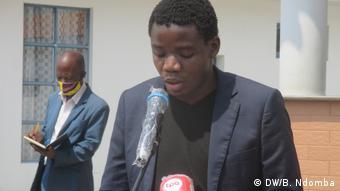 Nuno Álvaro Dala | Mitglied des Aufbaustabs von PRA-JA Servir Angola