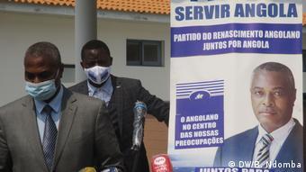 Koordinator von PRA-JA Servir Angola Abel Chivukuvuku