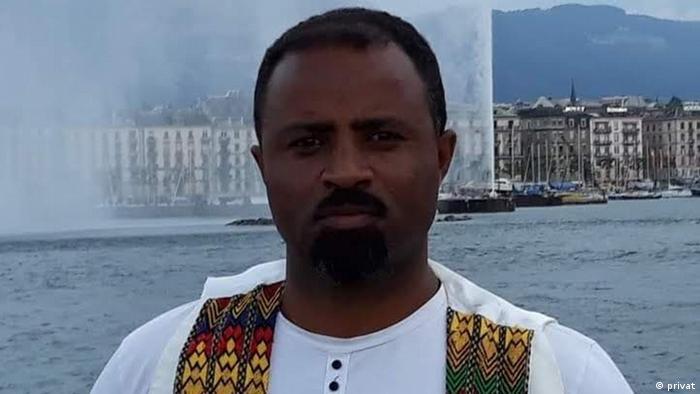 Äthiopien Addis Abeba   Sozialanthropologe   Dawit Samuel