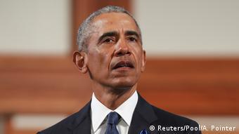 Former US President Barack Obama (Reuters/Pool/A. Pointer)