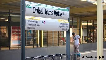 Subway station Uncle Tom's Cabin in Berlin (DW/N. Wojcik)