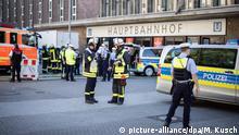 Deutschland Evakuierung Bahnhof Düsseldorf