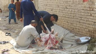 Afghanistan Eid - Adha Opferfest in der Khost Provinz