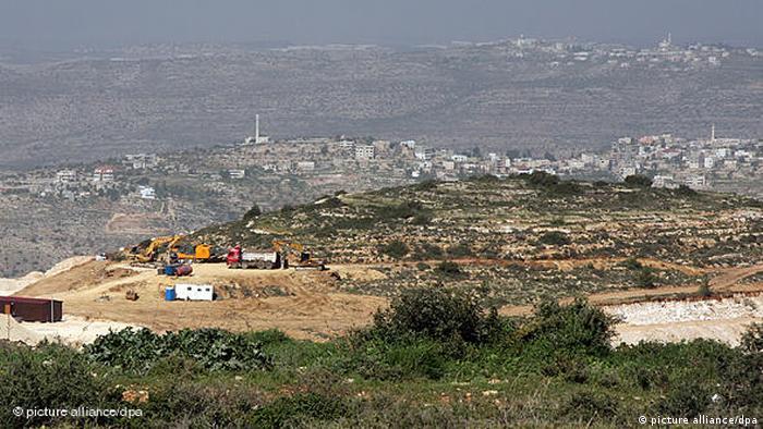 Flash-Galerie geplante Städte Palästinensische Autonomiegebiete Rawabi (picture alliance/dpa)