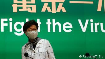 Hongkong Regierungschefin Carrie Lam (Reuters/T. Siu)
