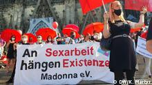 Deutschland Demonstration Sexarbeit in Köln