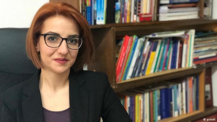 Ermeni siyaset bilimci Anna Karapetyan