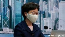 Hongkong Regierungschefin Carrie Lam