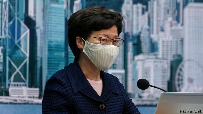 Hongkong Regierungschefin Carrie Lam (Reuters/L. Yik)
