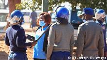 Simbabwe Harare Proteste der Pflegekräfte