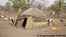 Ghana Fulani-Siedlung