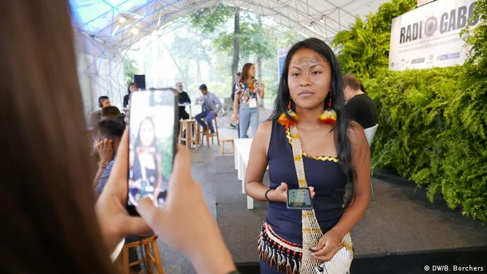 DW Akademie, Colombia, Festival Gabo: A new wave of younganddigitally savvyindigenous activists, journalists and media practitionershave entered the scene