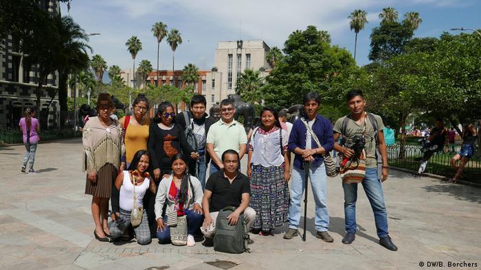 DW Akademie Kolumbien Festival Gabo: It began with a journey: Indigenous media makers join forces