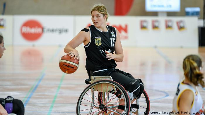 Barbara Groß ha sido una pieza clave en el equipo alemán de baloncesto en silla de ruedas desde 2015.