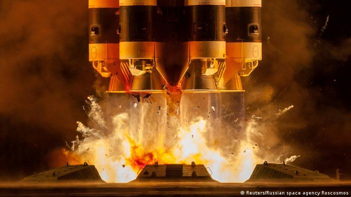 Bajkonur: start rakiet z satelitami komunikacyjnymi Ekspress-80 i Ekspress-103