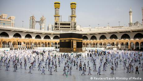 BdTD Saudi Arabien | Hadsch-Pilgerfahrt inmitten der COVID-19-Pandemie (Reuters/Saudi Ministry of Media)