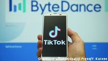 TikTok (picture-alliance/dpa/Jiji Press/Y. Kurose)