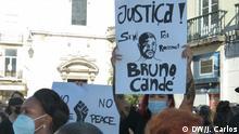 Proteste gegen Rassismus in Portugal nach dem Tod von Bruno Candé, 31.07.2020, Lissabon